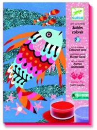 Djeco: Design - Sand Art Fish Rainbows