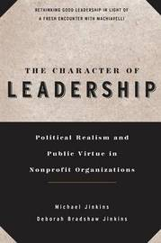 The Character of Leadership by Michael Jinkins image