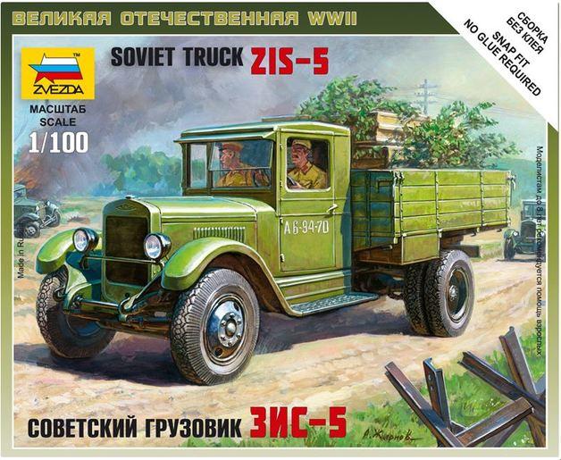 Zvezda 1/100 Soviet ZIS-5 Truck