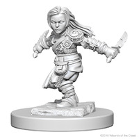 D&D Nolzurs Marvelous: Unpainted Minis - Halfling Female Rogue image