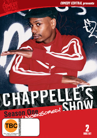 Chappelle's Show: Season 1, Uncensored (2 Disc Set) on DVD