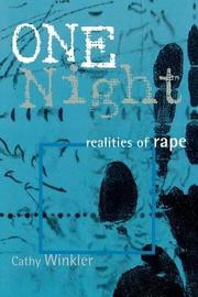 One Night by Cathy Winkler
