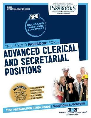 Advanced Clerical and Secretarial Positions by National Learning Corporation