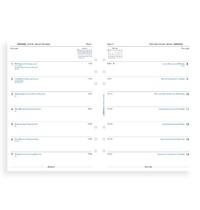Filofax: A5 2020 Refill - Week per Page (Unlined)