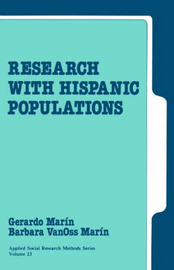 Research with Hispanic Populations by Gerardo Mar'in image