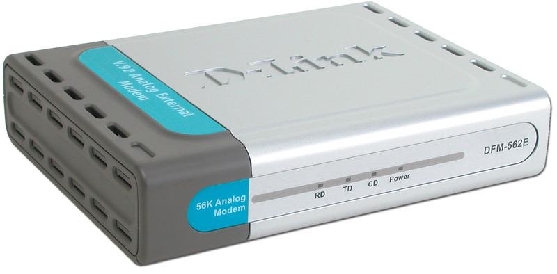 D-Link DFM-562E 56K External/Data/Fax/Voice Modem image