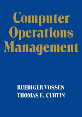 Computer Operations Management by Ruediger Vossen image
