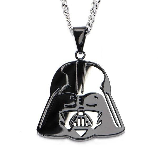 Star Wars Darth Vader Mirror Pedant Necklace