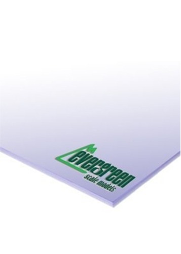 Evergreen Styrene White Sheet 1mm