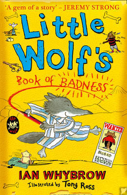 Little Wolf's Book of Badness by Ian Whybrow image