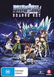 Fairy Tail: Dragon Cry on DVD