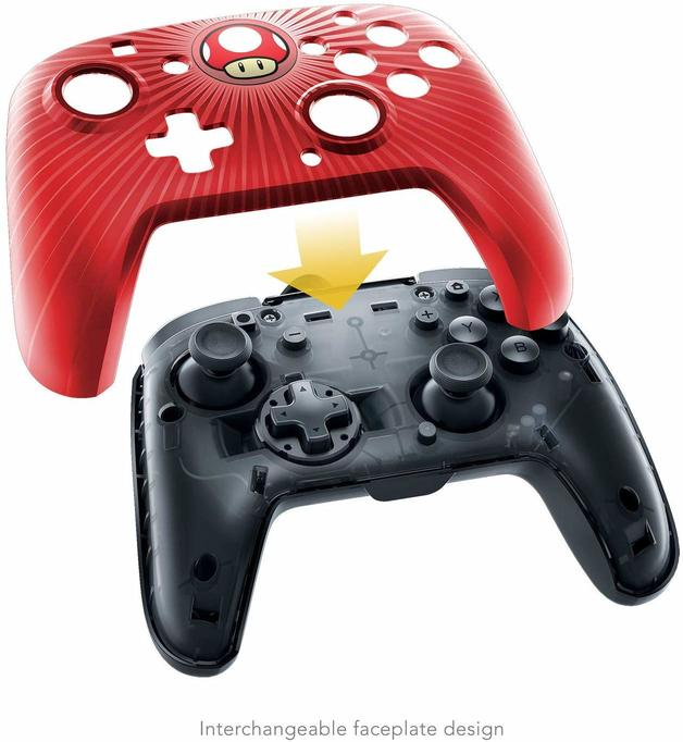 PDP Faceoff Wired Pro Controller for Switch - Super Mario for Switch