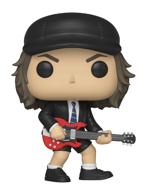 AC/DC - Angus Young Pop! Vinyl Figure (with a chance for a Chase version!)