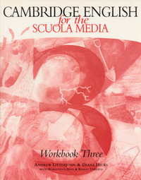 Cambridge English for the Scuola Media 3 Workbook and workbook cassette pack by Andrew Littlejohn image