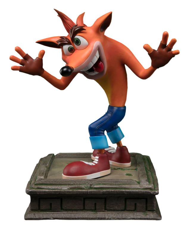 "Crash Bandicoot - 16"" Replica Statue"
