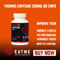 Eat Me Thermo Caffeine 90 Capsules 200mg