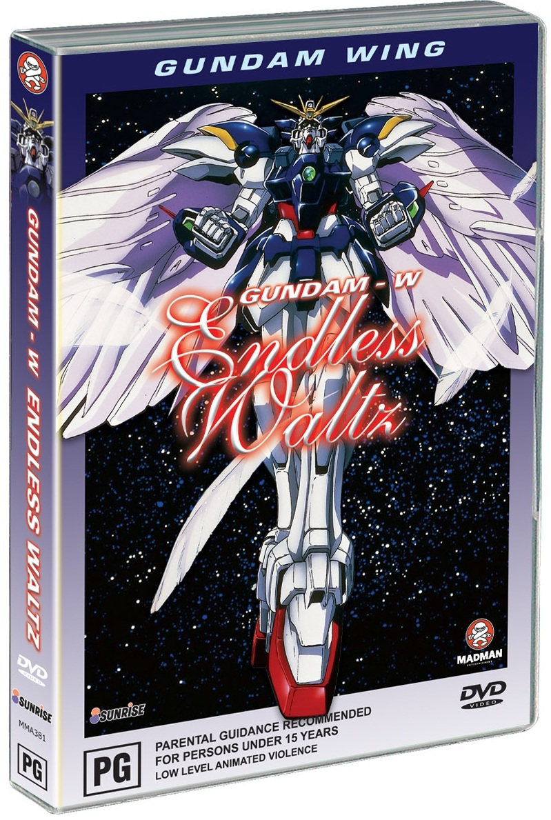 Gundam Wing - Endless Waltz on DVD image