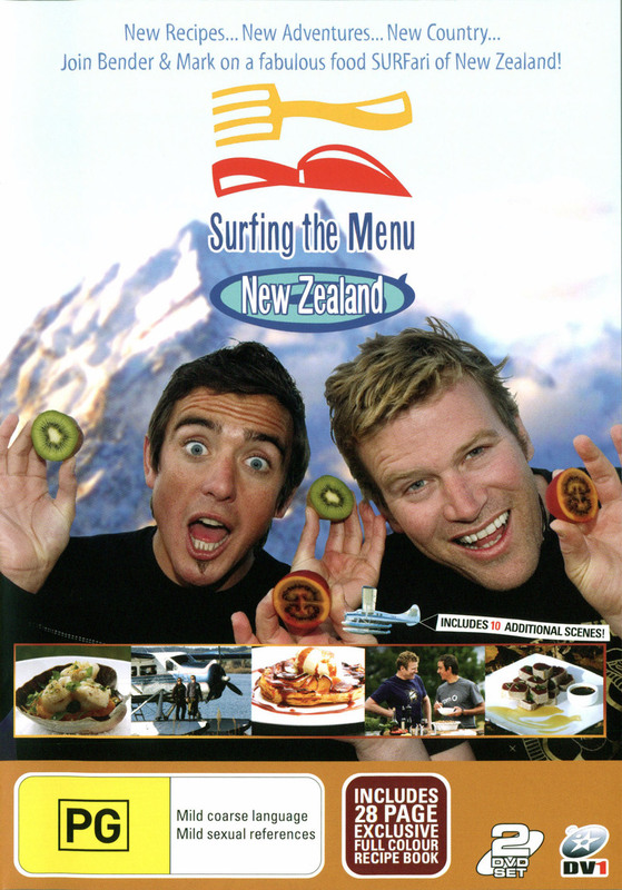 Surfing The Menu: Series 4 - (2 Disc Set) on DVD