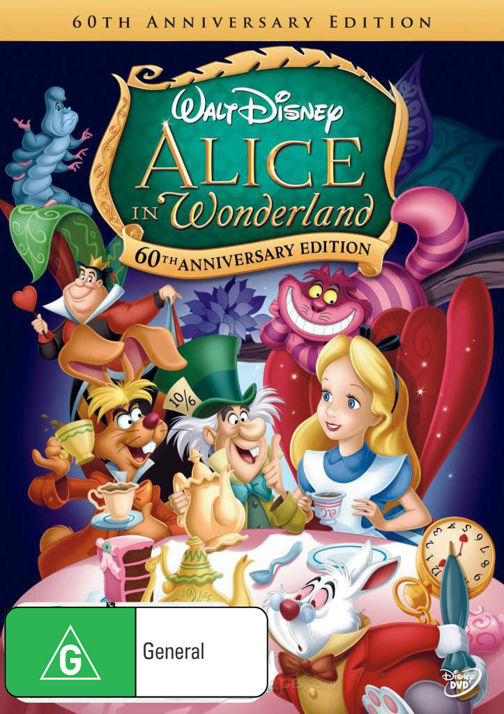 Alice in Wonderland: 60th Anniversary Edition on DVD image