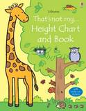 That's Not My Height Chart and Book by Fiona Watt