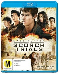 The Maze Runner 2: Scorch Trials on Blu-ray