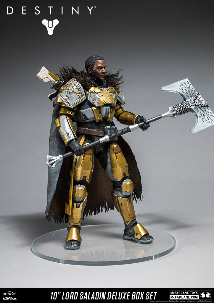 "Destiny: Lord Saladin - 10"" Deluxe Action Figure image"
