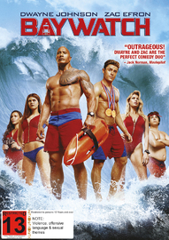 Baywatch (2017) on DVD