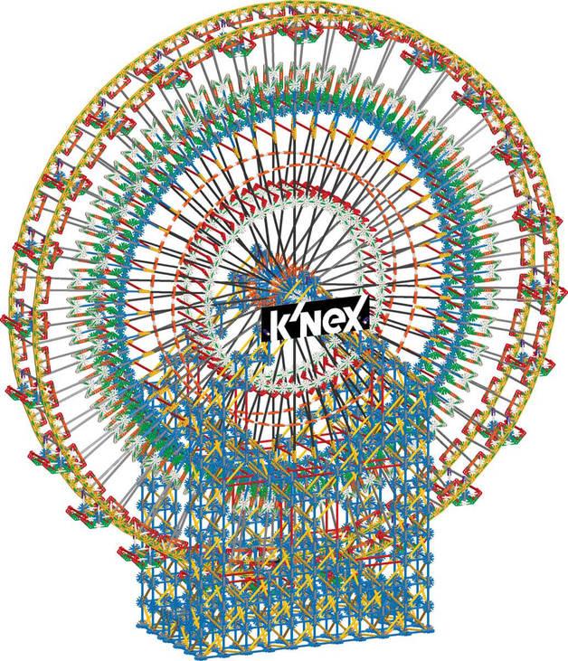K'NEX: Thrill Rides - 6-Foot Ferris Wheel