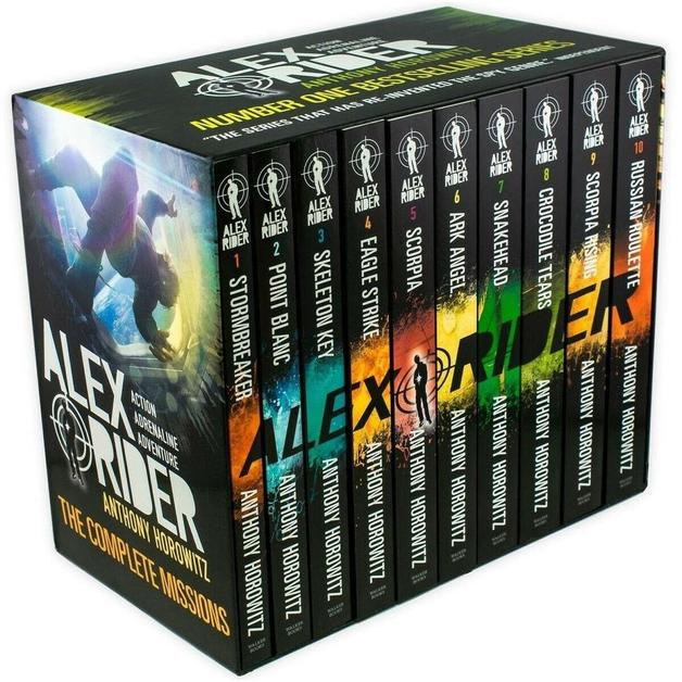 Alex Rider 10 Book Collection by Anthony Horowitz