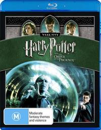 Harry Potter And The Order Of The Phoenix on Blu-ray image