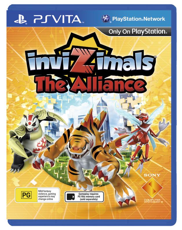 Invizimals: The Alliance for Vita