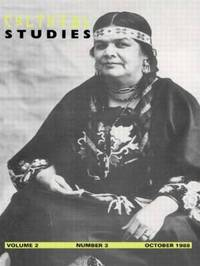 Cultural Studies (Volume 2 Issue 3) image