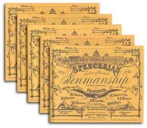 Spencerian Penmanship Set of 5 Copybooks by Platt R Spencer