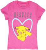 Pokemon Pikachu Giggles T-Shirt (Small)
