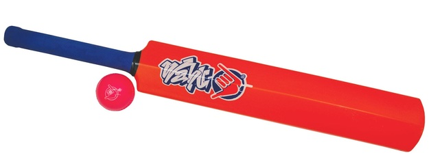 Wahu: Cricket Bat & Ball Set - Orange