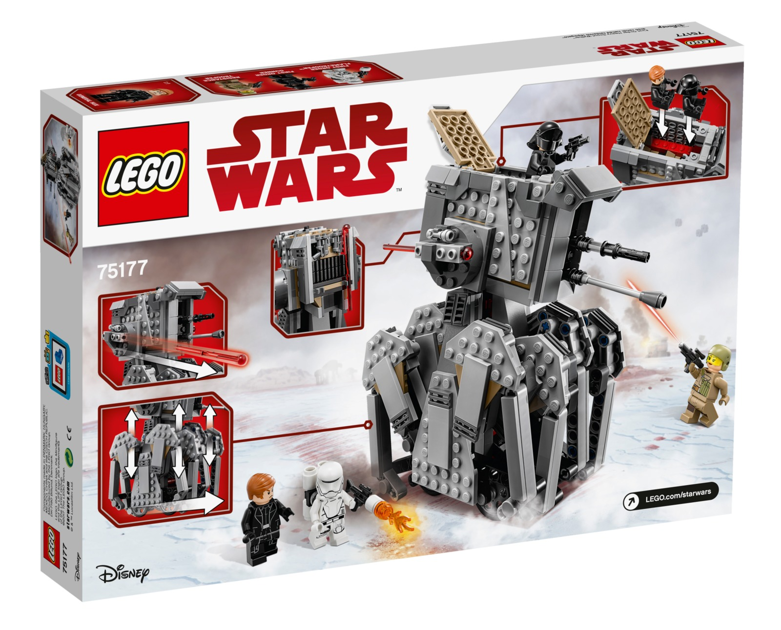 LEGO Star Wars: First Order Heavy Scout Walker (75177) image