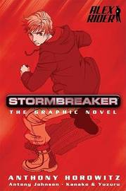 Stormbreaker graphic novel (Alex Rider #1) by Anthony Horowitz image