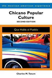 Chicano Popular Culture by Charles M Tatum image