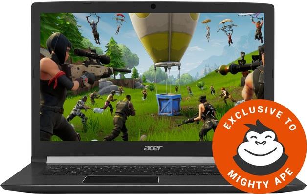 "Acer Aspire 7 17.3"" Entry Level Gaming Laptop   Intel Core i5   NVIDIA GTX 1050 4GB   8GB RAM + 256GB SSD  "