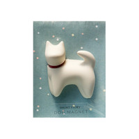 Short Story: Dog Magnet - Handsome (White)