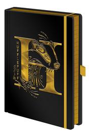 Harry Potter Premium Foil PU A5 Notebook - Hufflepuff