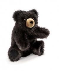 Folkmanis Hand Puppet - Baby Black Bear