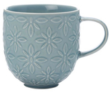 Casa Domani Pavia Mug Textured 400ml Blue