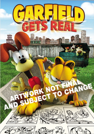 Garfield Gets Real on DVD image