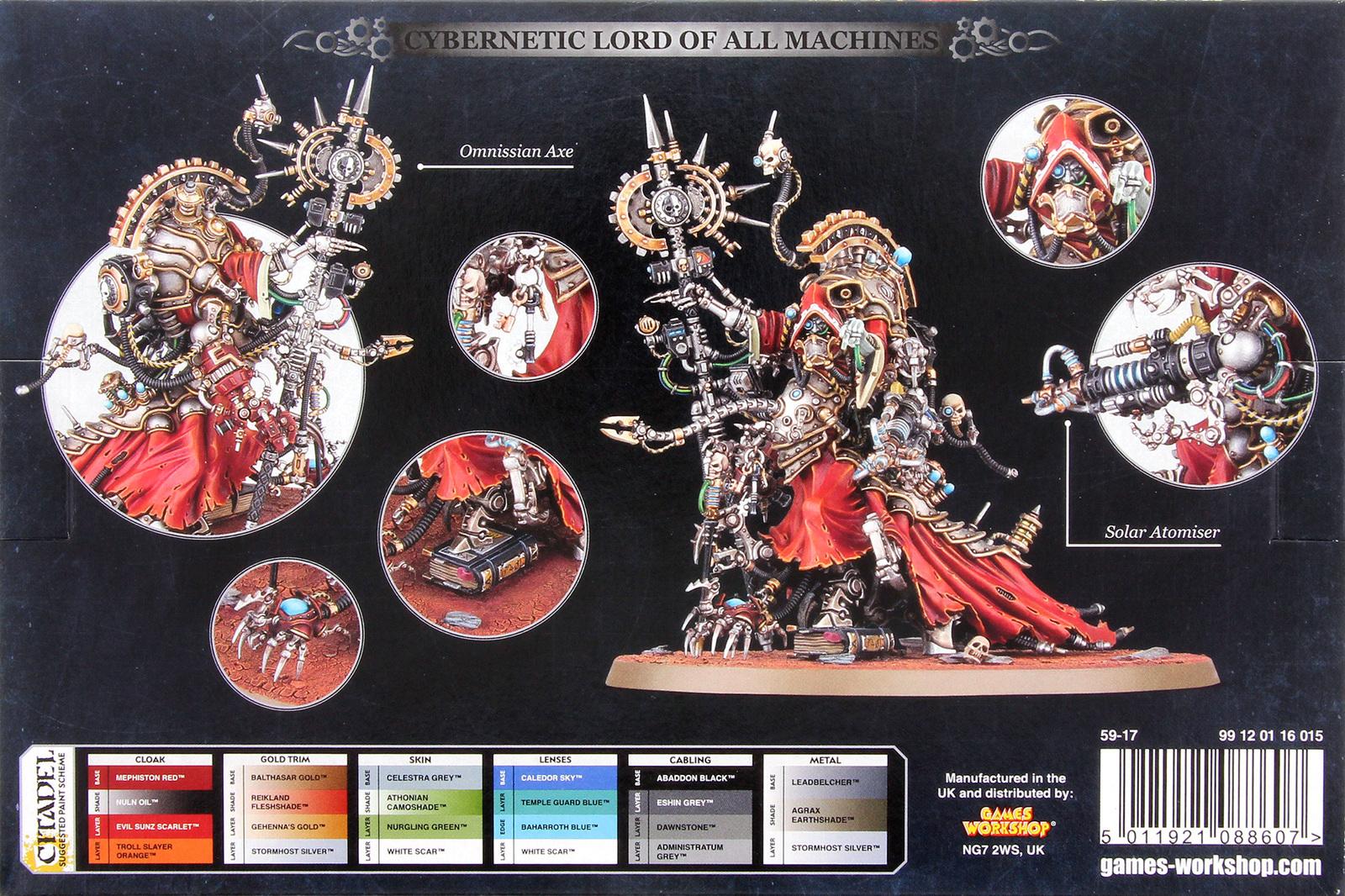 John Deere For Sale >> Warhammer 40,000: Adeptus Mechanicus Belisarius Cawl | at ...
