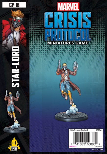 Marvel Crisis Protocol Miniatures Game Starlord Expansion image