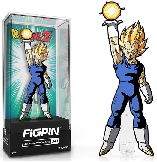 Dragon Ball Z: Super Saiyan Vegeta (#341) - Collectors FiGPiN