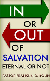In or Out of Salvation by Franklin, D. Bolin image