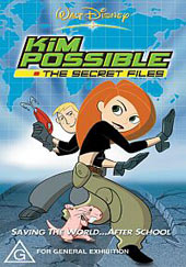 Kim Possible - The Secret Files on DVD