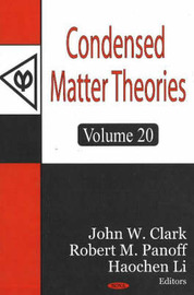 Condensed Matter Theories: v. 20 image